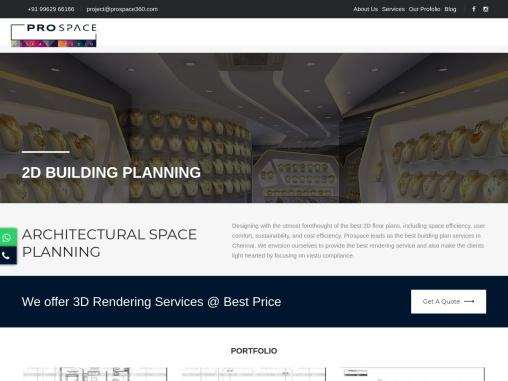 Building Planning Service   Rendering Service Chennai   Best Villa Design
