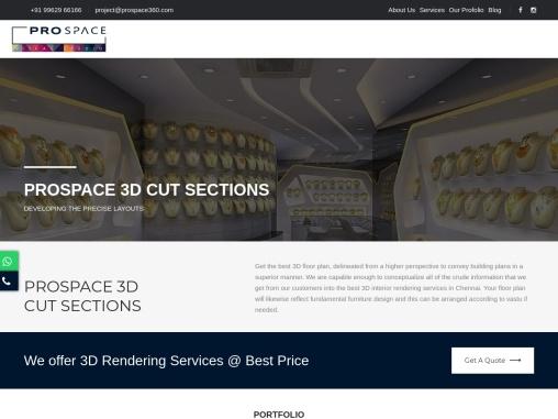 Best Villa Design | 3D Bungalow Design | 3D Rendering Designers Chennai
