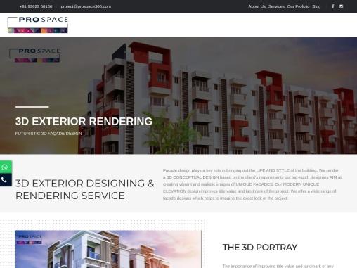 Best Front Elevation Design | 3D Front Elevation Design Chennai