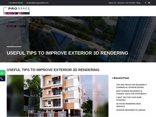 Elevation Designing   Elevation Rendering   Exterior View