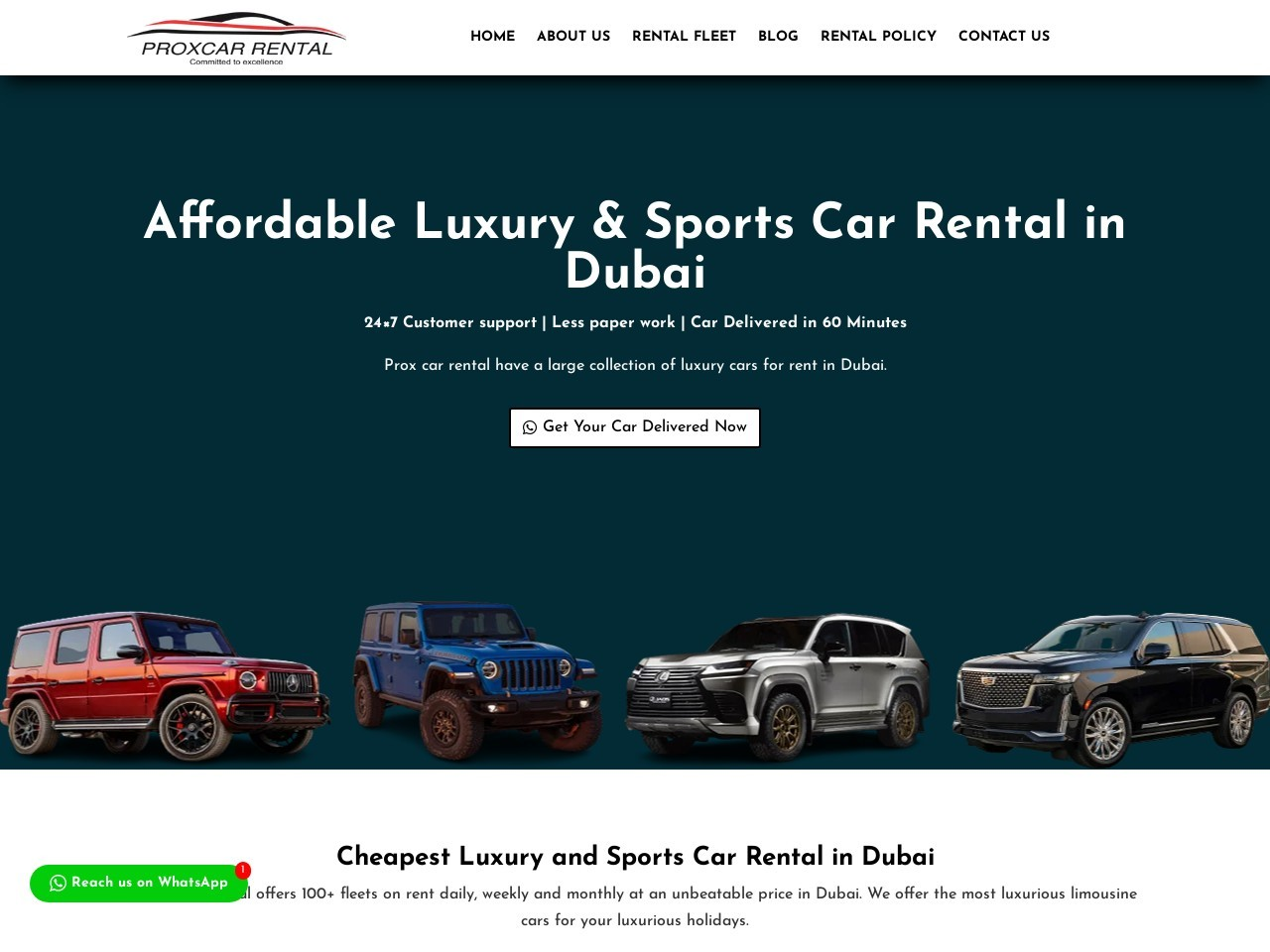 Cheap Rent A Luxury Cars Dubai