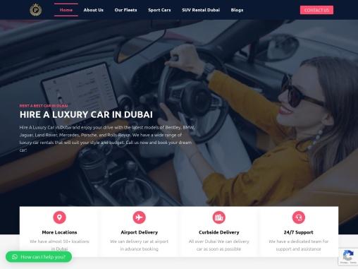 Rent a Best Luxury Car in Dubai UAE