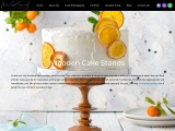 Wooden Cake Stands Online | Buy Handcrafted Cake Stands
