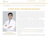 Dr. Mayur Kardile – Best Spine Surgeon in Pune | Spine Specialist