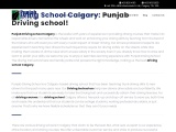 Driving School Calgary   Training   Courses – Punjab Driving Academy
