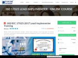 ISO 17025 Lead Implementer Training