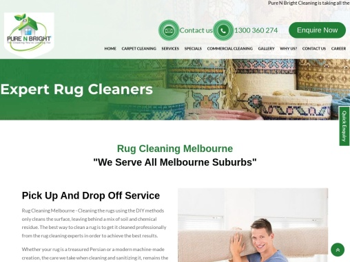 Rug Wash Melbourne: Rugs Cleaning Expert Melbourne | Hire Now