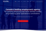 Pure Staffing Solutions Inc. #1Job Recruitment Agency Canada