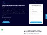 React App Development Company In Chennai