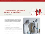 Disinfection and Sanitization Services in Dubai
