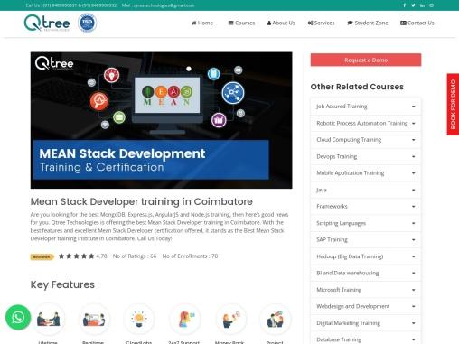 Best Mern Stack training in coimbatore | Mern Stack Development Training Course in Coimbatore