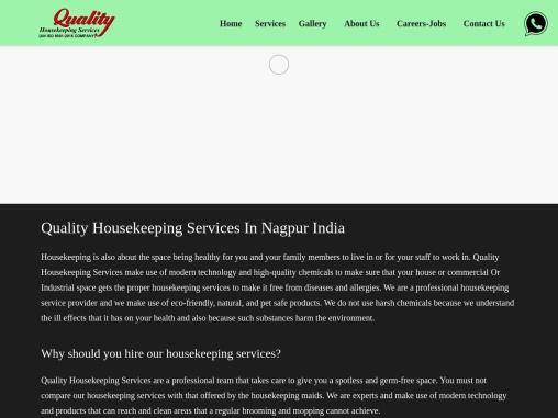 Quality Housekeeping Services Nagpur India – qualityhousekeepingindia