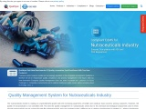 EQMS Software for Nutraceutical industry