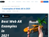 Some of the Best WebAR Examples in 2021
