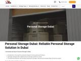 personal storage dubai