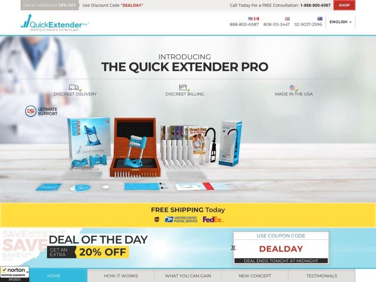 Quick Extender Pro screenshot
