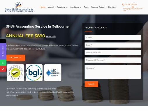 SMSF Auditor | Self Managed Super Fund | Quick SMSF Accountants