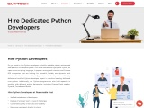 Hire Python Developer – Hourly, Monthly or Full-Time