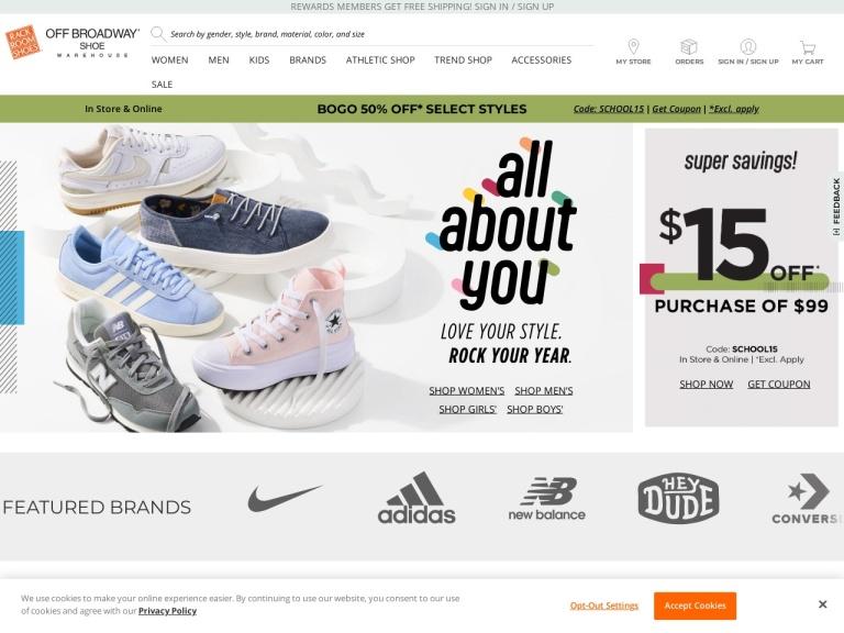 Rack Room Shoes screenshot