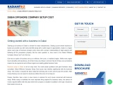 Know the Dubai Offshore Company Setup Cost with Radiantbiz