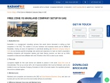 Companies in Free Zone : Mainland Company Setup in UAE with Radiantbiz