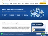 Contact us for Top Web Developers in Los Angeles