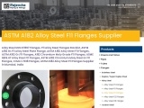 ASTM A182 Alloy Steel Gr.F11 Flanges Supplier
