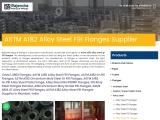 ASTM A182 Alloy Steel Gr.F91 Flanges Supplier