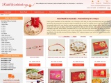 Online Rakhi Gifts to Australia on the Same Day with Free Shipping