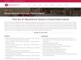 Beach Resorts in South Padre Island