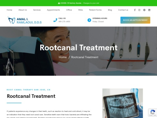 Ramlaoui DDS | Rootcanal Treatment-Rootcanal Therapy-Rootcanal Specialist