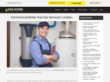 Commercial Boiler And Gas Services London.