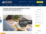 BEST AUSTRALIAN UNIVERSITIES TO STUDY ACCOUNTING & FINANCE