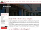 Top 10 CBSE schools in Bangalore