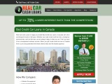 What To Do For Bad Credit Car Loans In Canada ?
