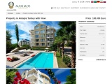 Property in Antalya Turkey with View