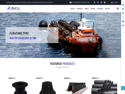 Marine Rubber Fenders Manufacturer Company