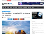 9 Enthralling Places To Visit In Alaska For Tourists | Travel Guide