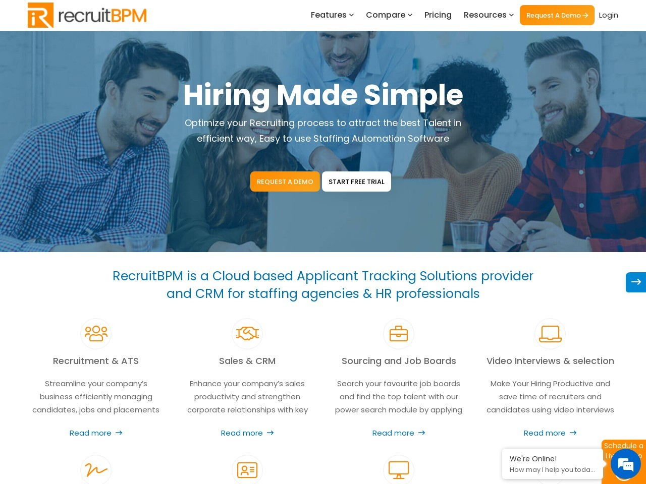 Staffing Agency Software for the Employment Industry | RecruitBPM