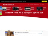 The new Audi RS 3 compact sports car