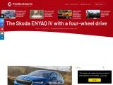 The new Skoda Enyaq iV all-wheel-drive electric SUV