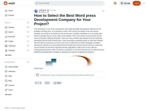 WordPress Development Company in Mumbai
