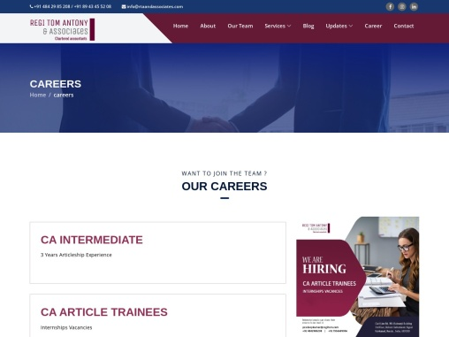 Chartered Accountants in Kerala   Corporation Tax Services India