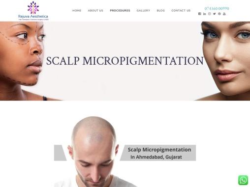 Scalp Micro pigmentation in Ahmedabad