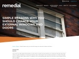 The advantages of replacing windows and doors |  Remedial Building Services