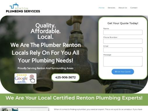 Renton Plumbing Services