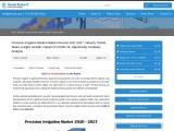 Precision Irrigation Market Global Forecast 2021-2027
