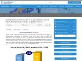 United States Dry Fruit Market, Volume, Companies, Forecast