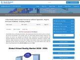 Virtual Reality Market by Software, Hardware, Company Analysis, Forecast By 2026