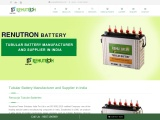 Renutron – UPS Battery Manufacturer and Supplier in India